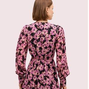kate spade Dresses - NWT kate spade floral chiffon dress